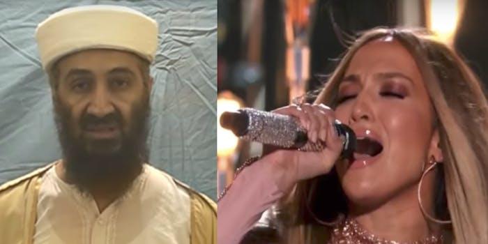 Jennifer Lopez audio file found in released personal documents of Osama Bin Laden
