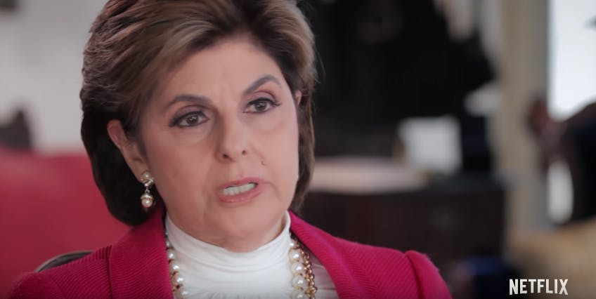 best documentaries 2018 Seeing Allred - Gloria Allred answers an interview question in a pink blazer