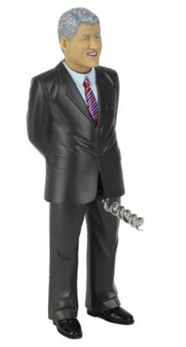 Bill Clinton corkscrew