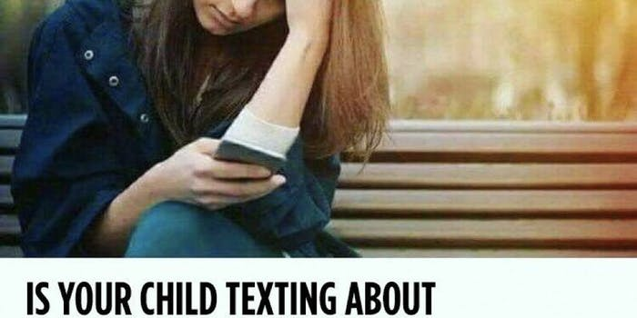child texting meme