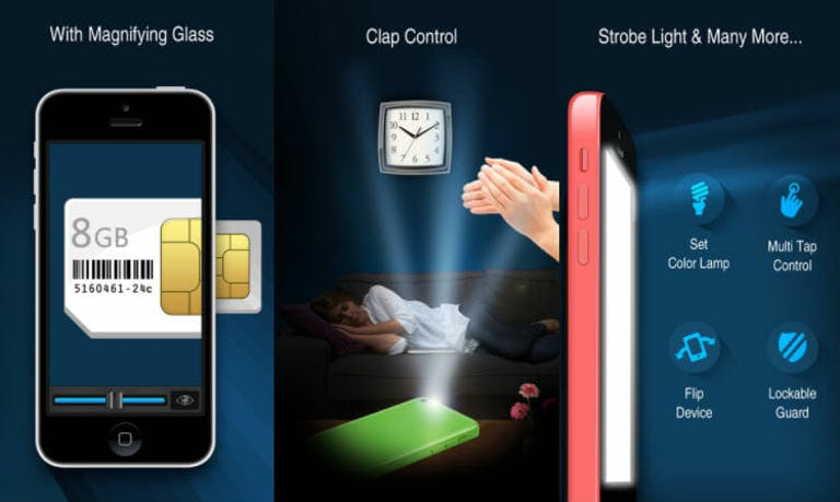 best flashlight app: Best Flash Light!