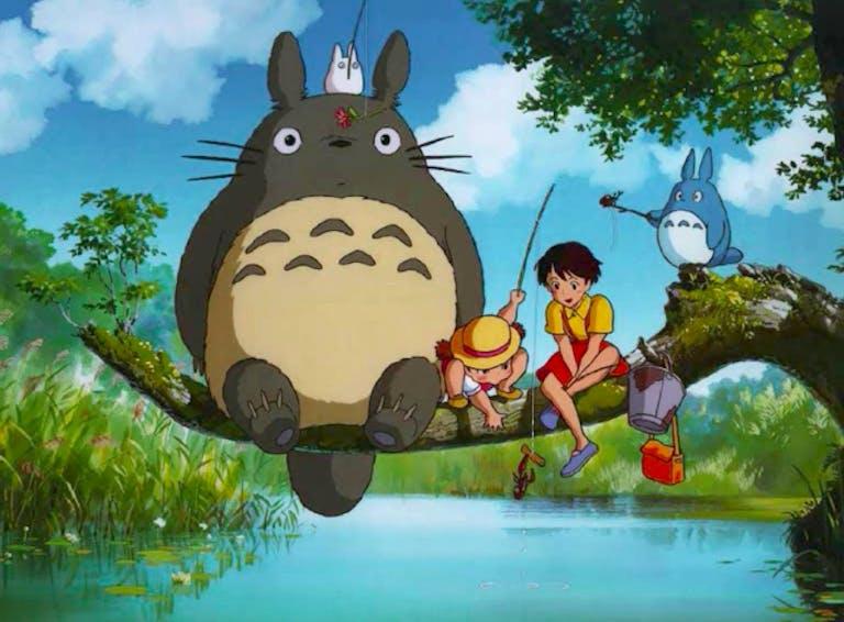anime music : my neighbor totoro