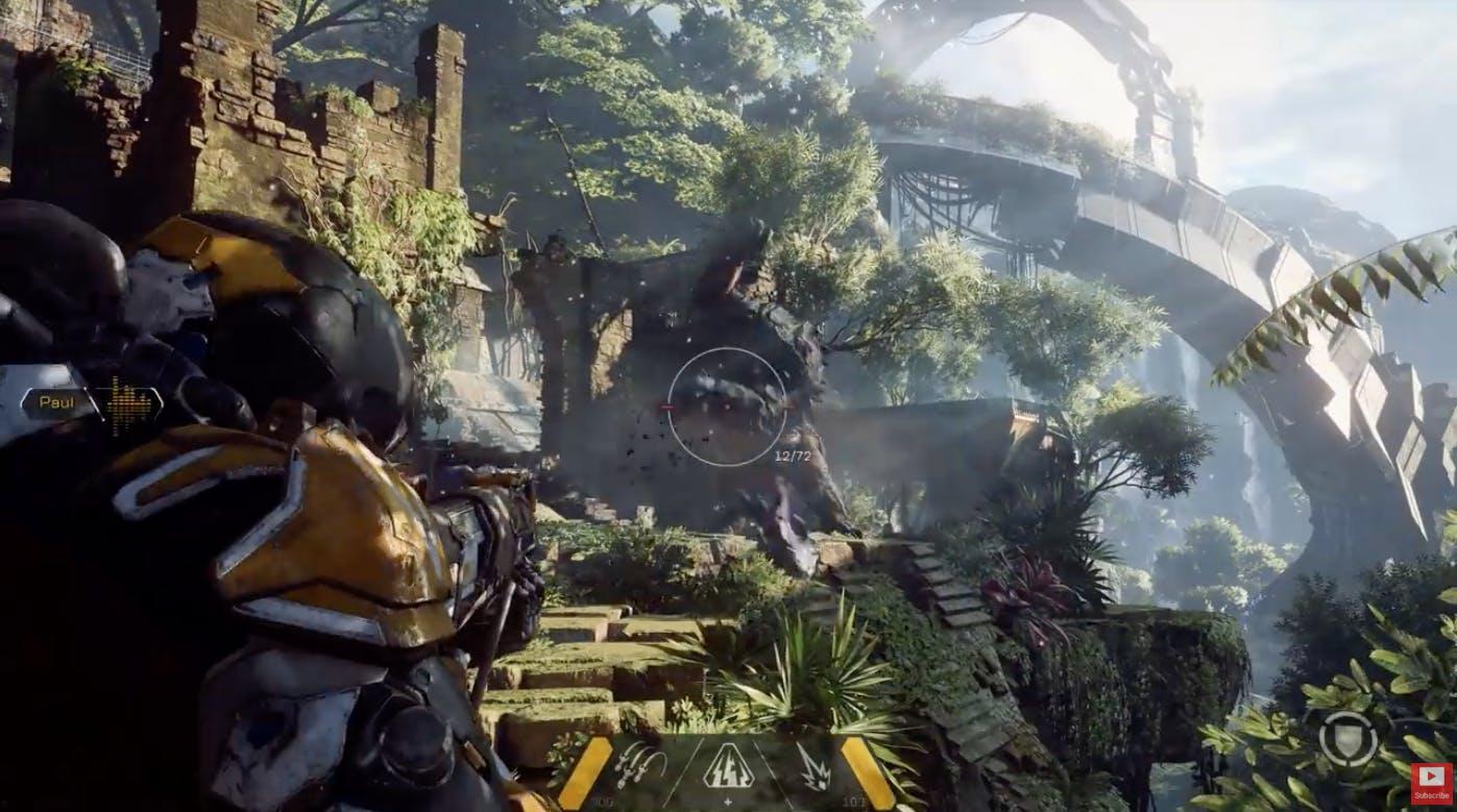 Anthem Xbox One X Enhanced