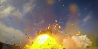SpaceX rocket explosions blooper reel