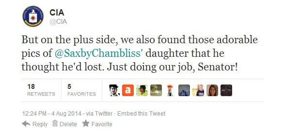 CIA tweet 1