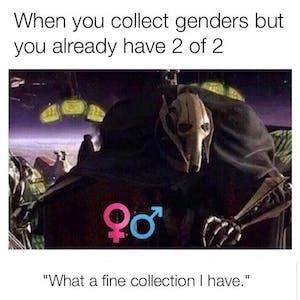 general grievous gender collection meme