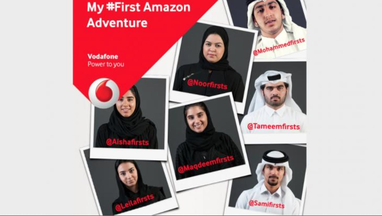 Vodafone Qatar: My First Amazon Adventure