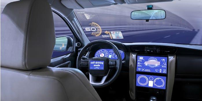 autonomous cars self-driving