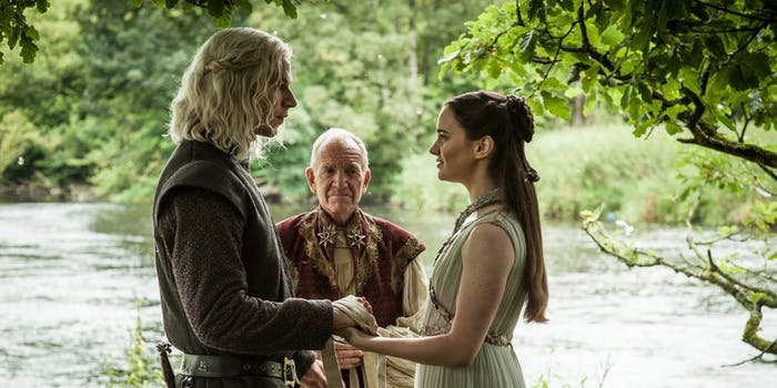 lyanna and rhaegar Targaryen wedding