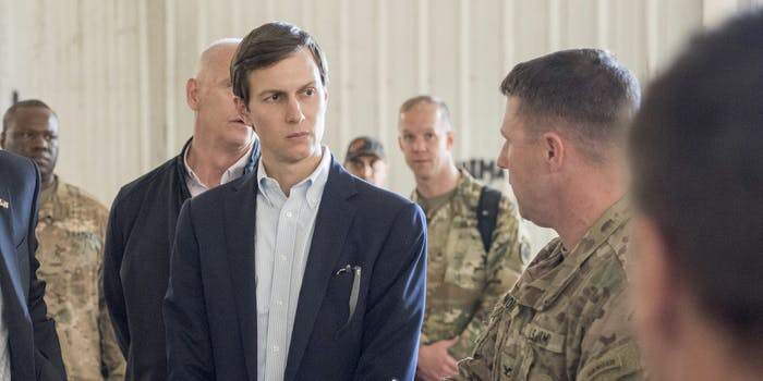 Trump lawyers reportedly discussed having Jared Kushner step down amid the Russia probe.