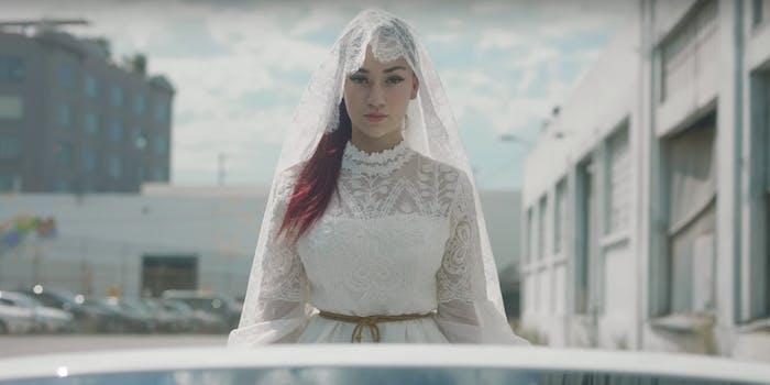 Danielle Bregoli aka bhad bhabie in 'Hi Bich'