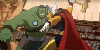 animated marvel movies