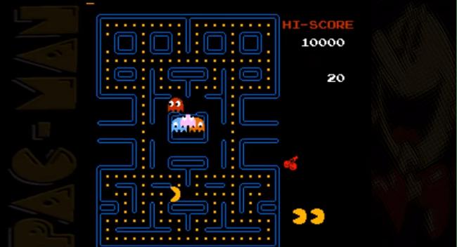 nes games: Pac-Man