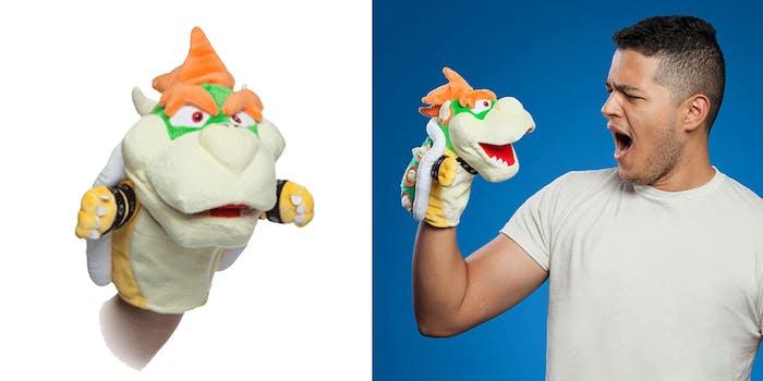 bowser puppet