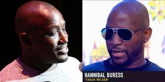 "Hannibal Buress and a Hannibal ""lookalike"""