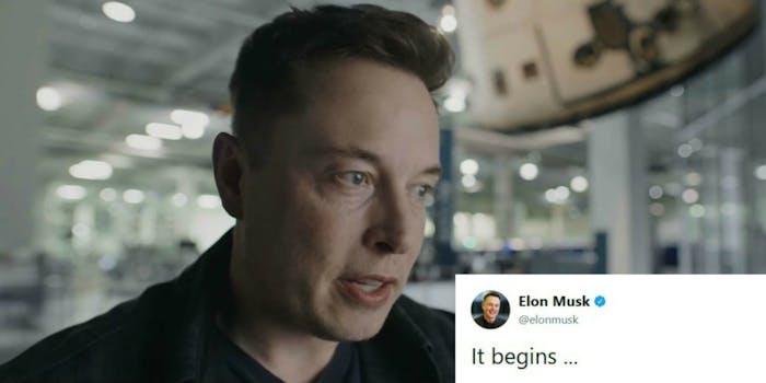 Elon Musk artificial intelligence World War III