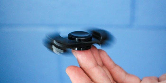 aluminum fidget spinner