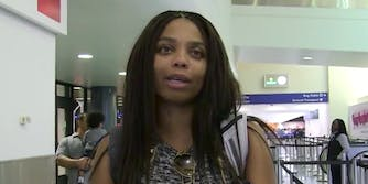 ESPN anchor Jemele Hill speaking to TMZ