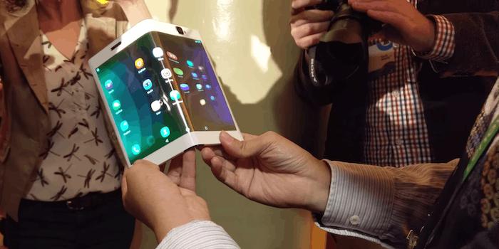 lenovo folio foldable smartphone tablet hybrid prototype concept