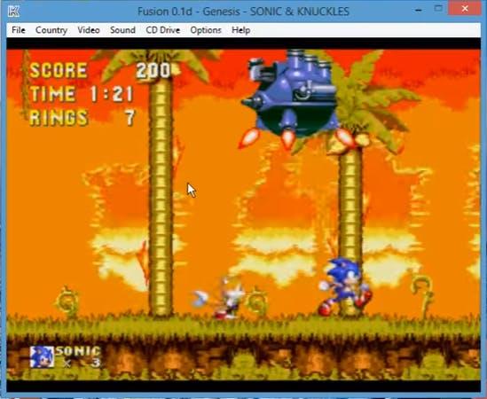 'Sonic 3 & Knuckles' emulation