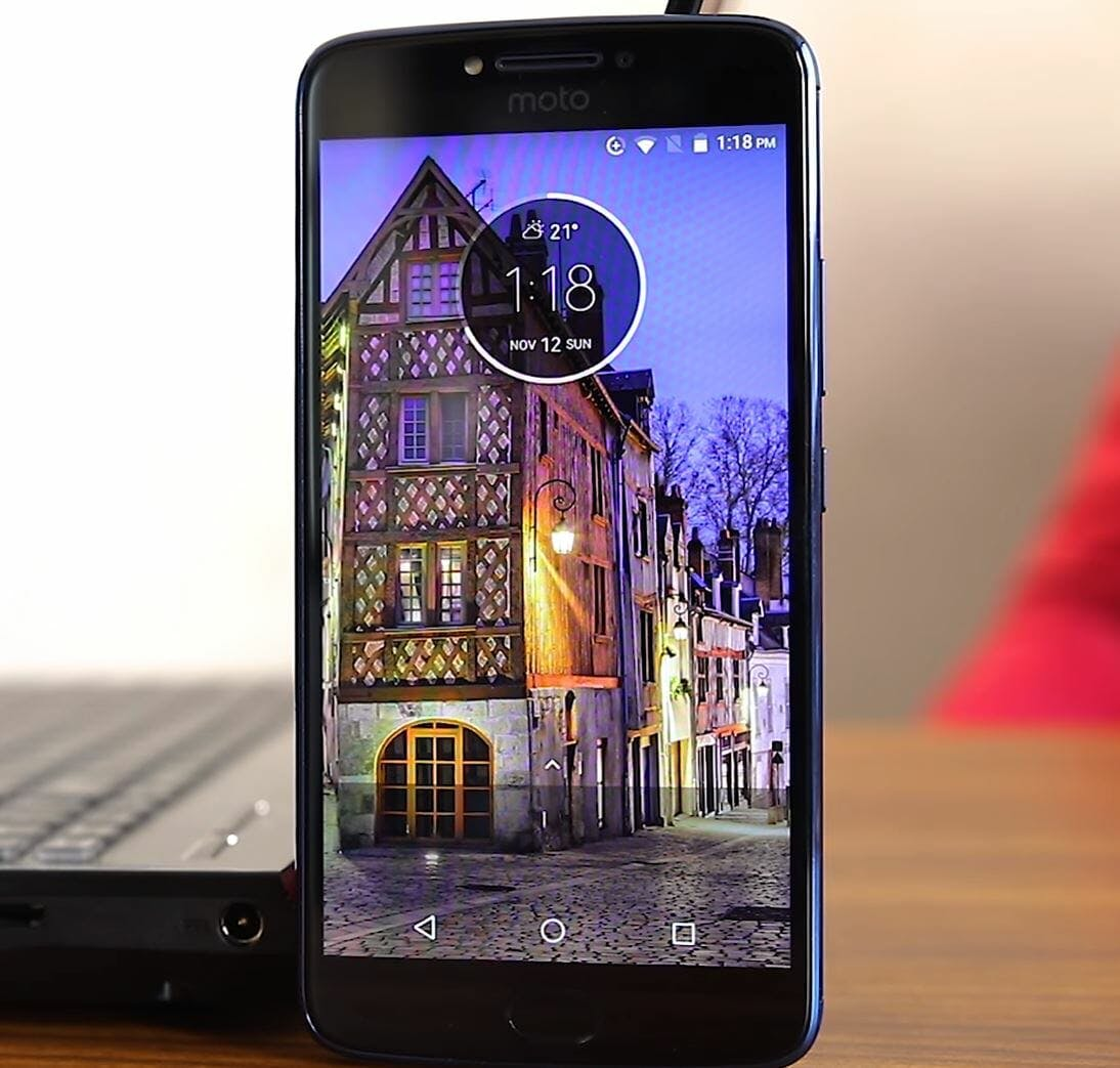 cheap phone motorola e4 plus smartphone
