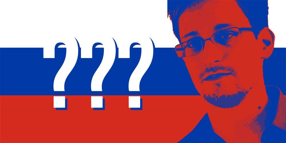Edward Snowden: Russia