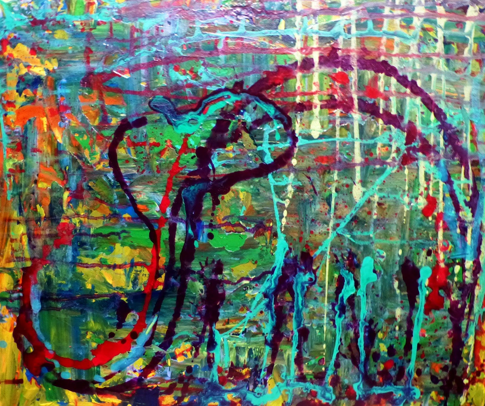 Painting by Ruby the elephant