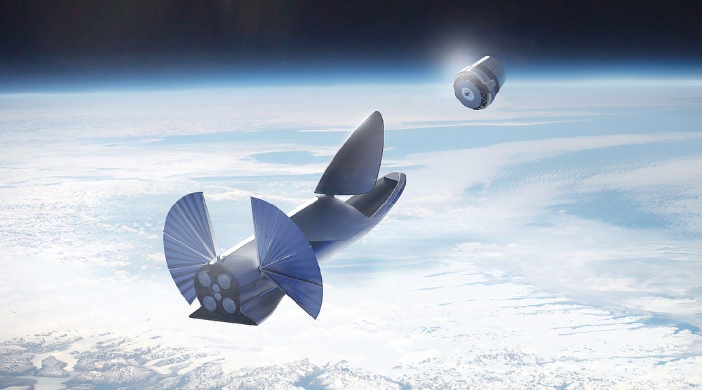spacex bfr elon musk satellite