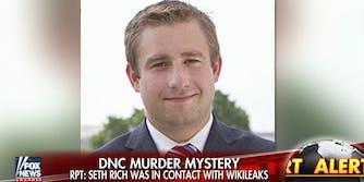 Fox News running Seth Rich story