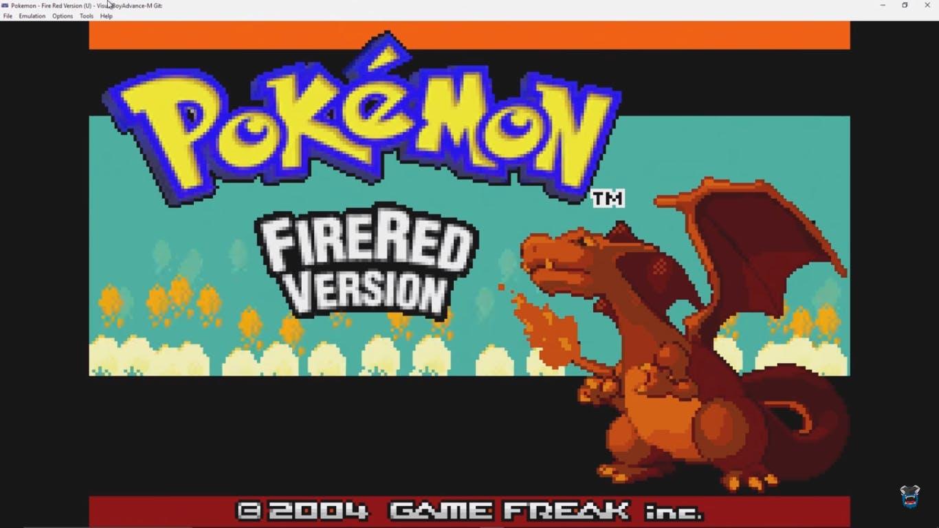 'Pokemon Fire Red Version' emulation