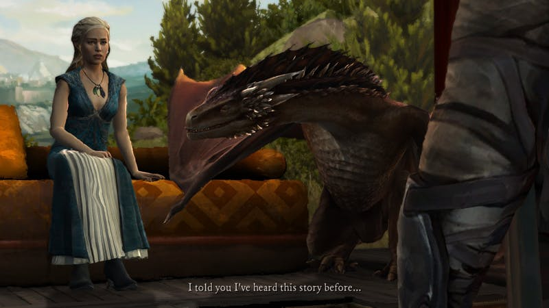 Because what would a Game of Thrones game be without the Khaleesi?