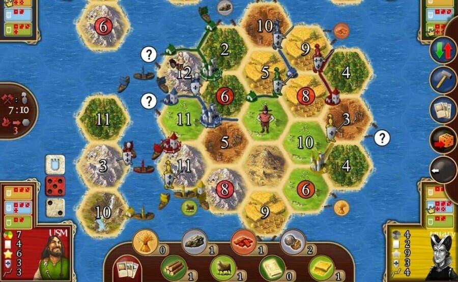 board games online : Settlers of Catan