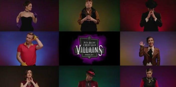Disney villains medley Peter Hollens