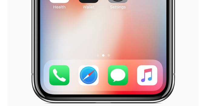 How to get a virtual home button on iPhone X