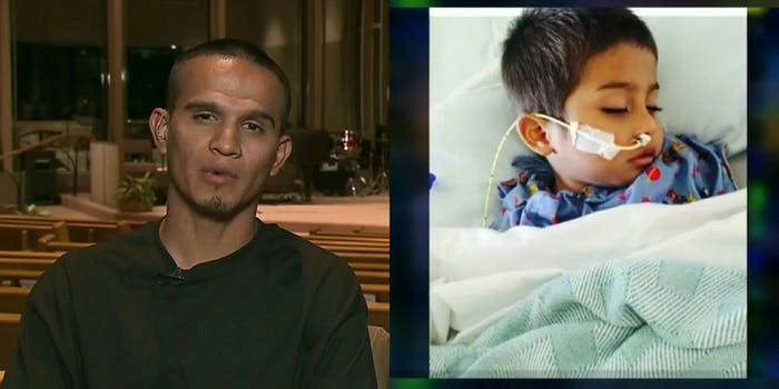 ICE has granted Jesus Armando Berrones-Balderas a one-year humanitarian stay to take care of his 5-year-old diagnosed with cancer.