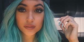 celebrity snapchats: Kylie Jenner