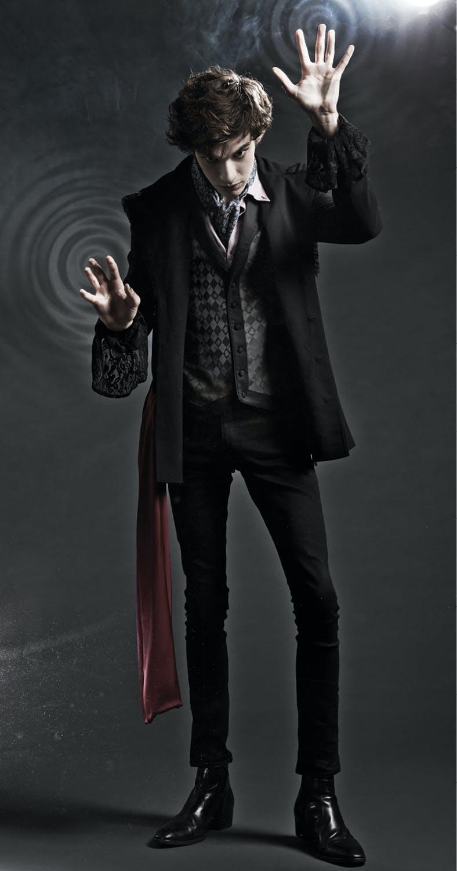 Mad Hatter lined black jacket - $79.50