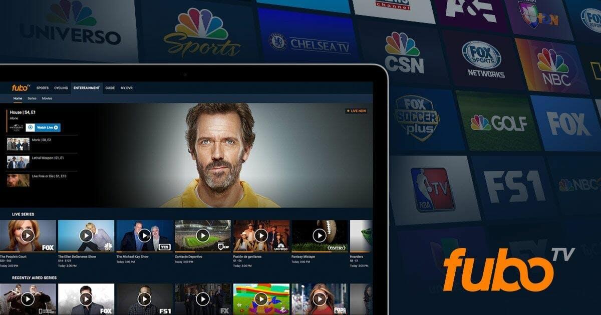 live tv streaming : FuboTV