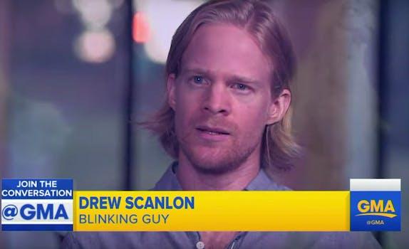 blinking guy