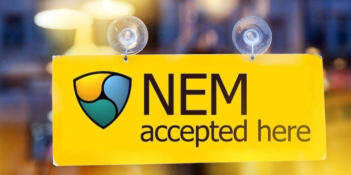 Cryptocurrency NEM