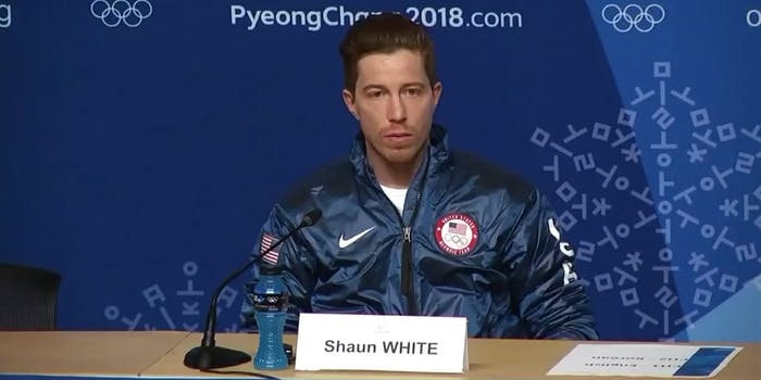 Olympian Shaun White was involved in a sexual harassment settlement in 2017.
