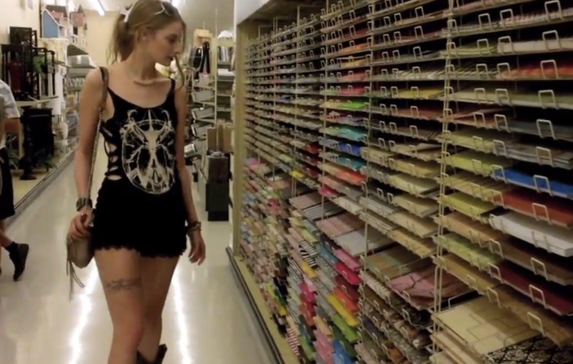 Ela Darling at Hobby Lobby