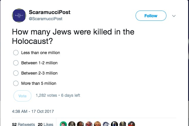 anthony scaramucci holocaust