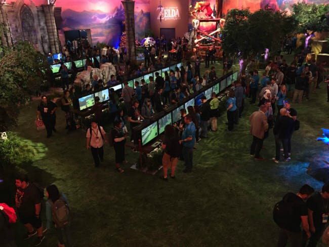 Nintendo turned its E3 2016 booth into an homage to The Legend of Zelda: Breath of the Wild