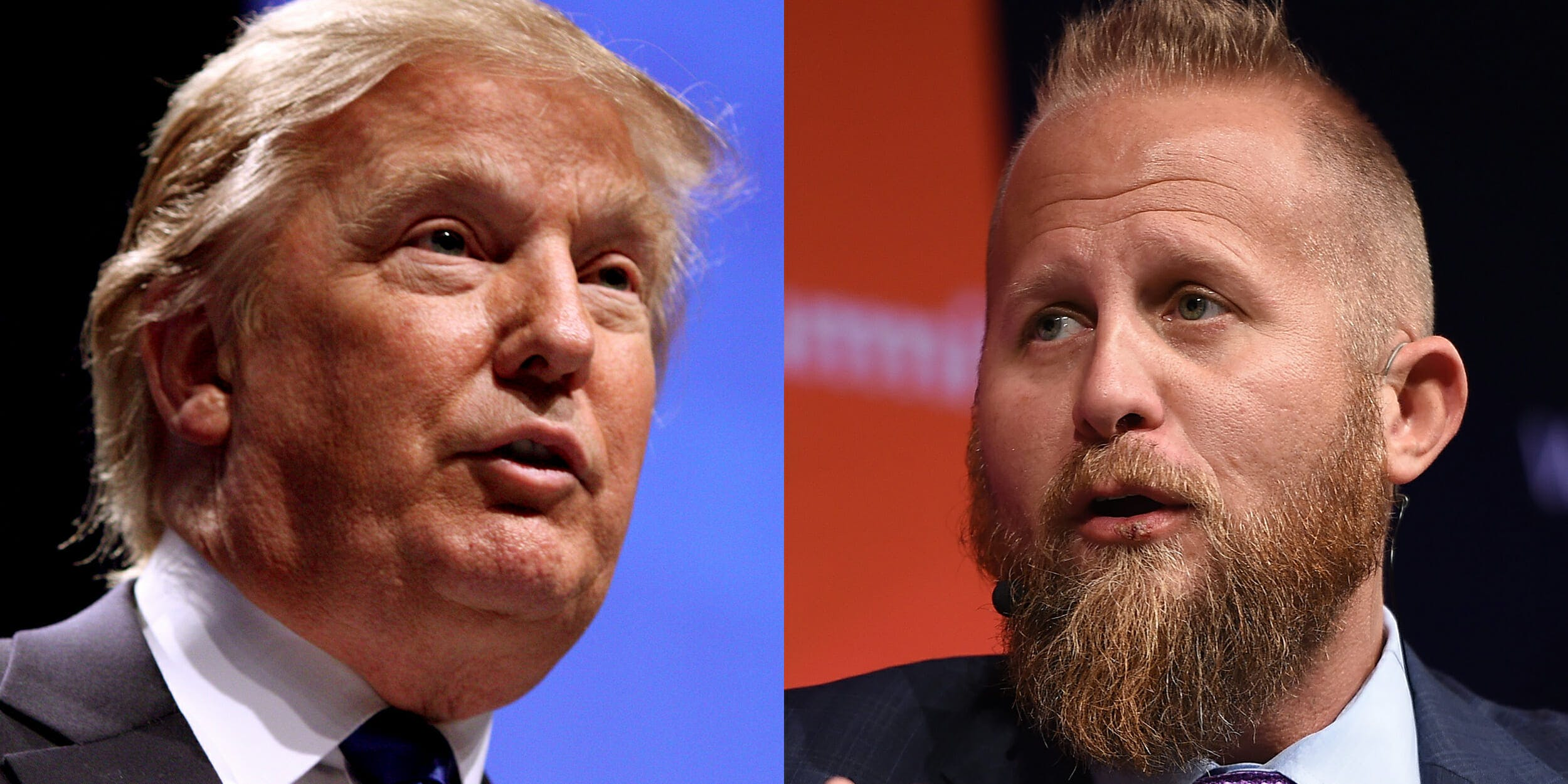 Donald Trump and Brad Parscale