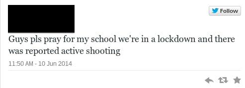 school shooting teen tweet 16