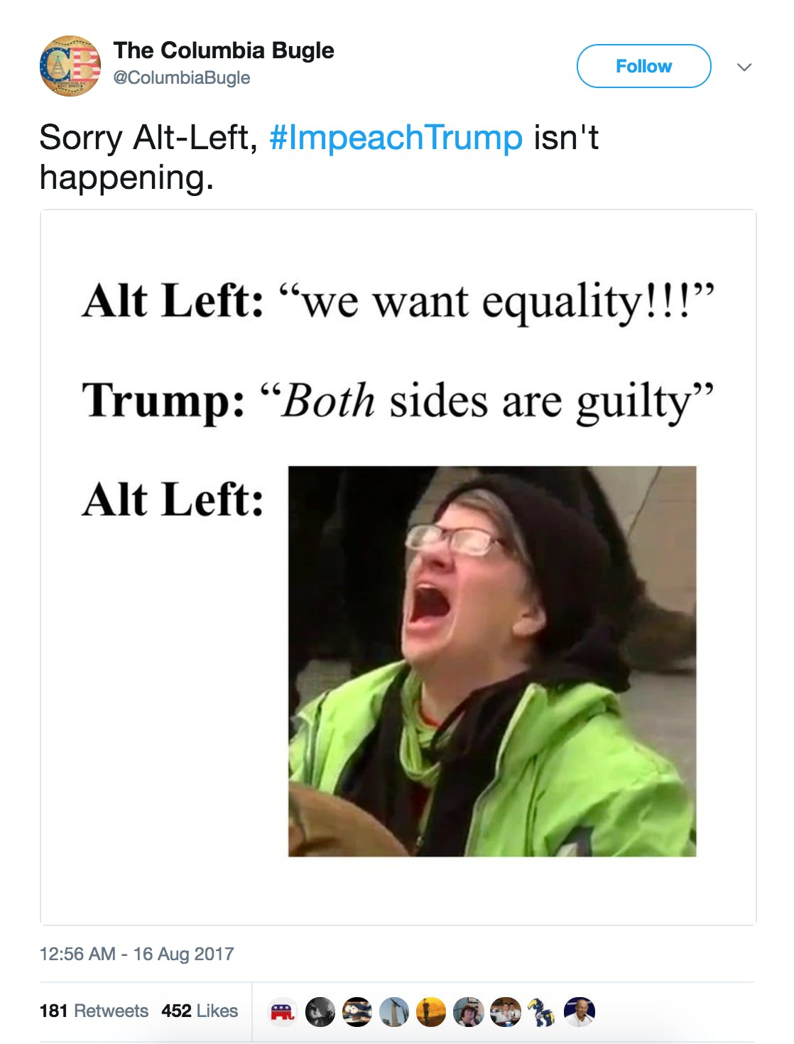 what is alt-left