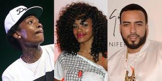 Wiz Khalifa, Teyana Taylor, and French Montana
