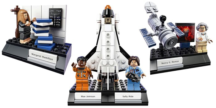 NASA LEGO sets