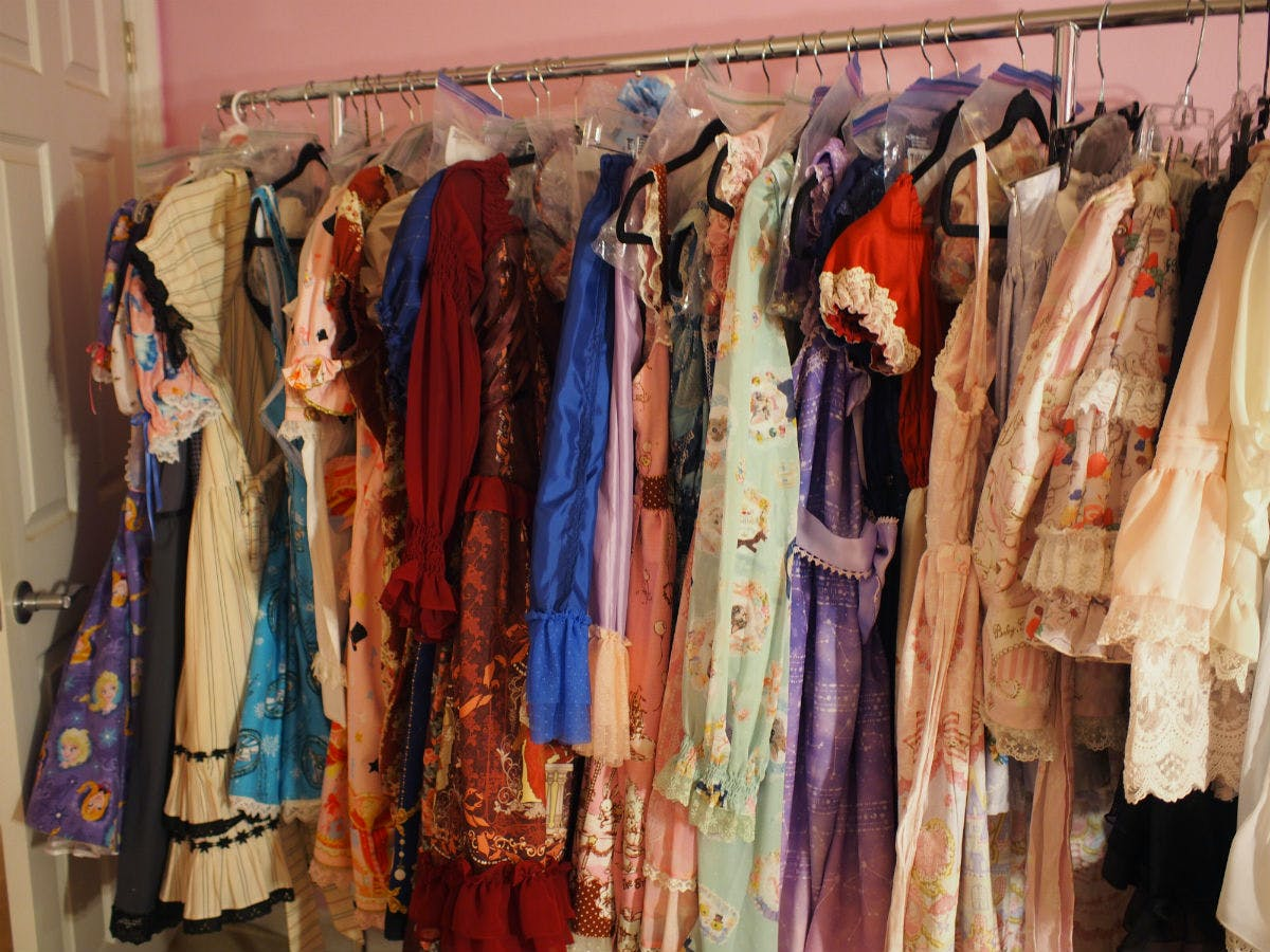 Baker's Lolita collection is worth thousands of dollars